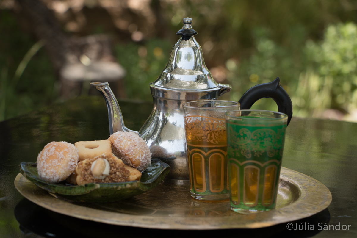 Tea time in Morocco