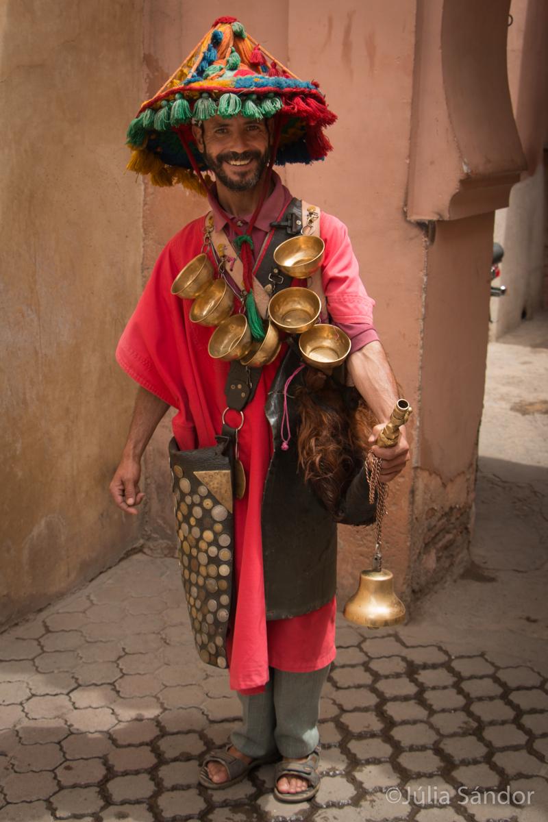 Water-seller - Marrakesh