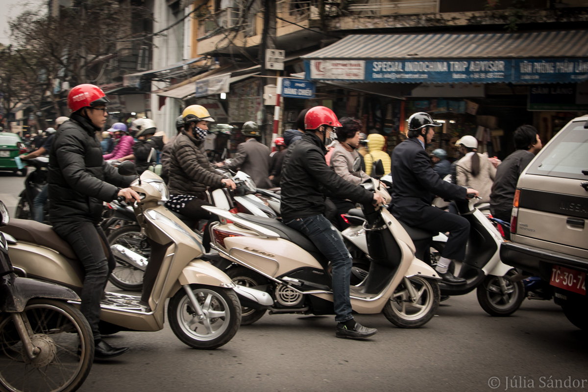 On the streets of Vietnam, Hanoi