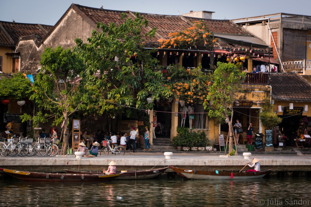 On the waters of Hoi An