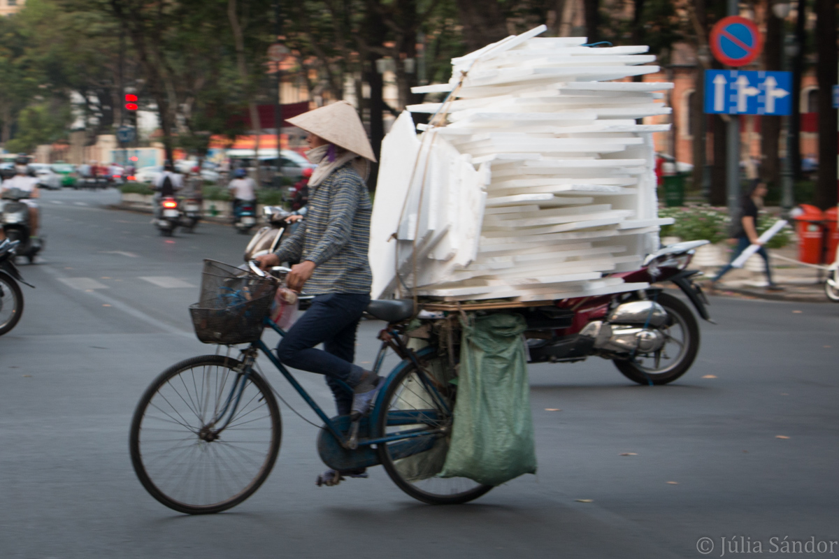 Main means of transport in Vietnam