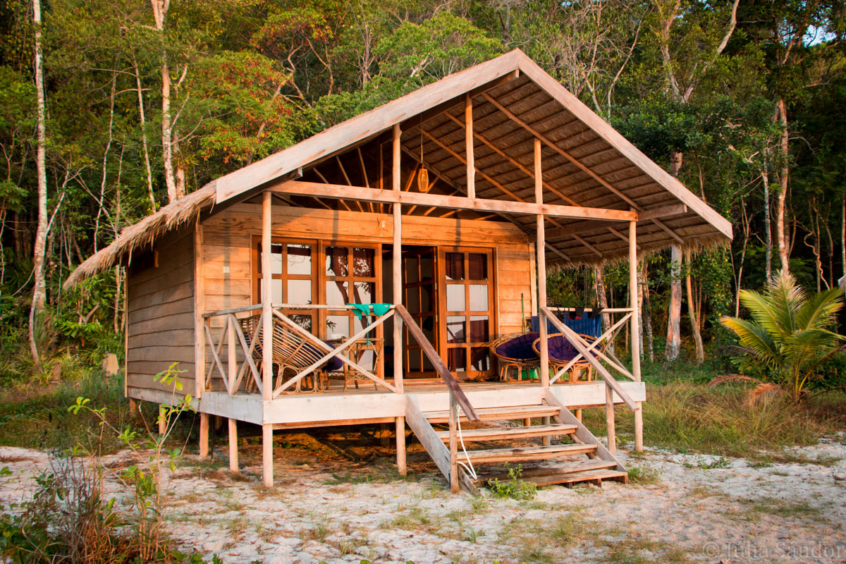 Koh Rong Samloem: Bungalow of Saracen Bay Resort