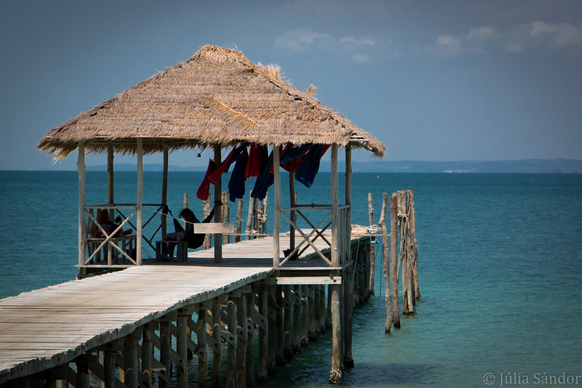 Koh Rong Samloem: Saracen Bay Resort view