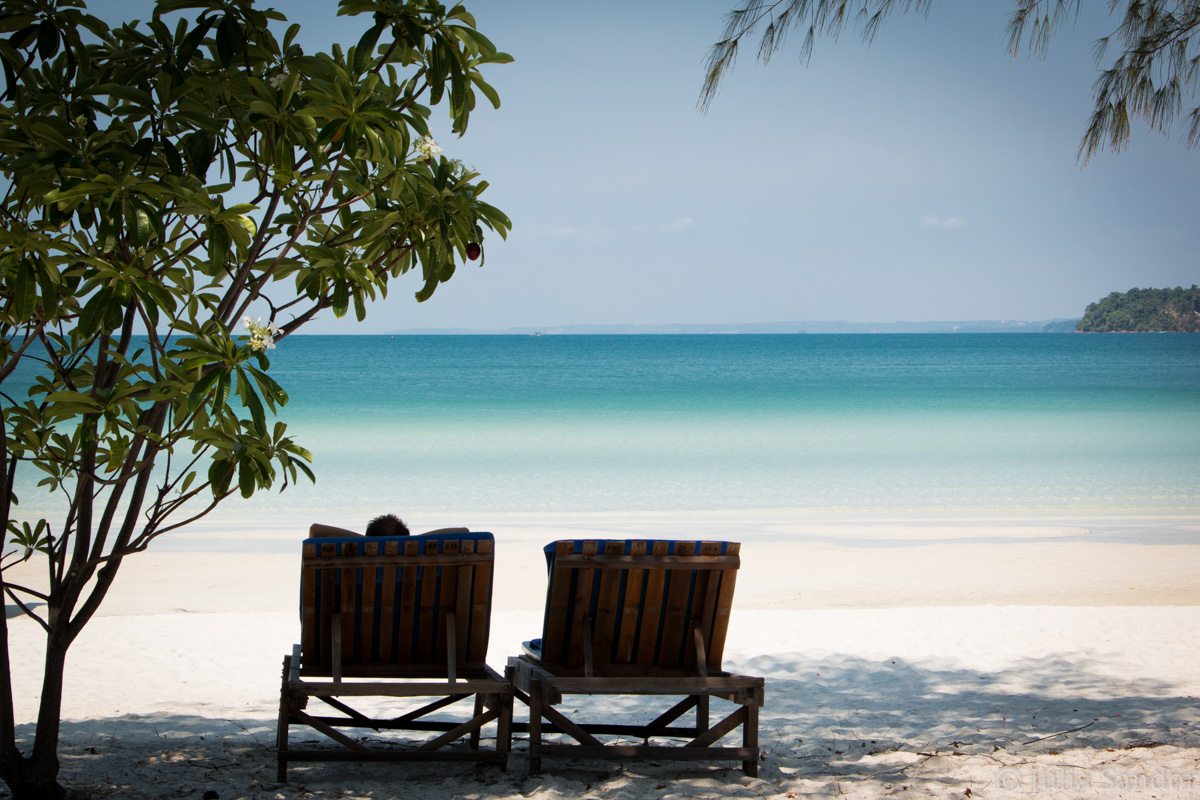 Koh Rong Samloem beach