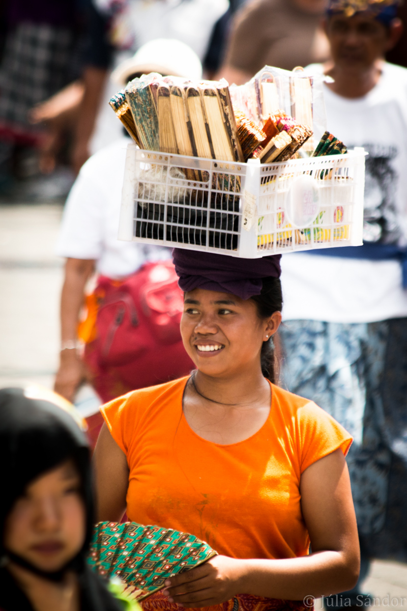 Faces of Asia: Balinese street vendor