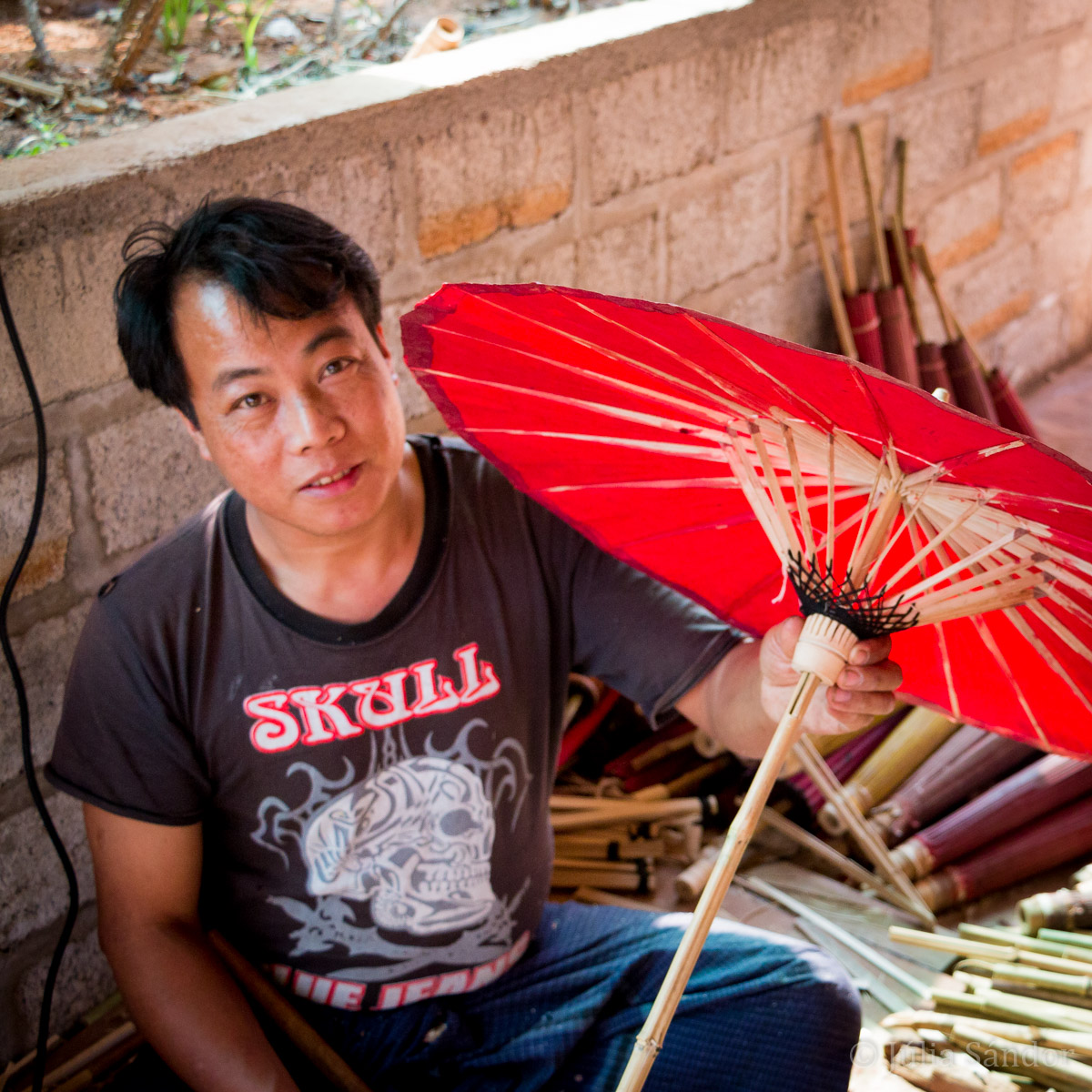 Faces of Asia: Shan Umbrella Maker