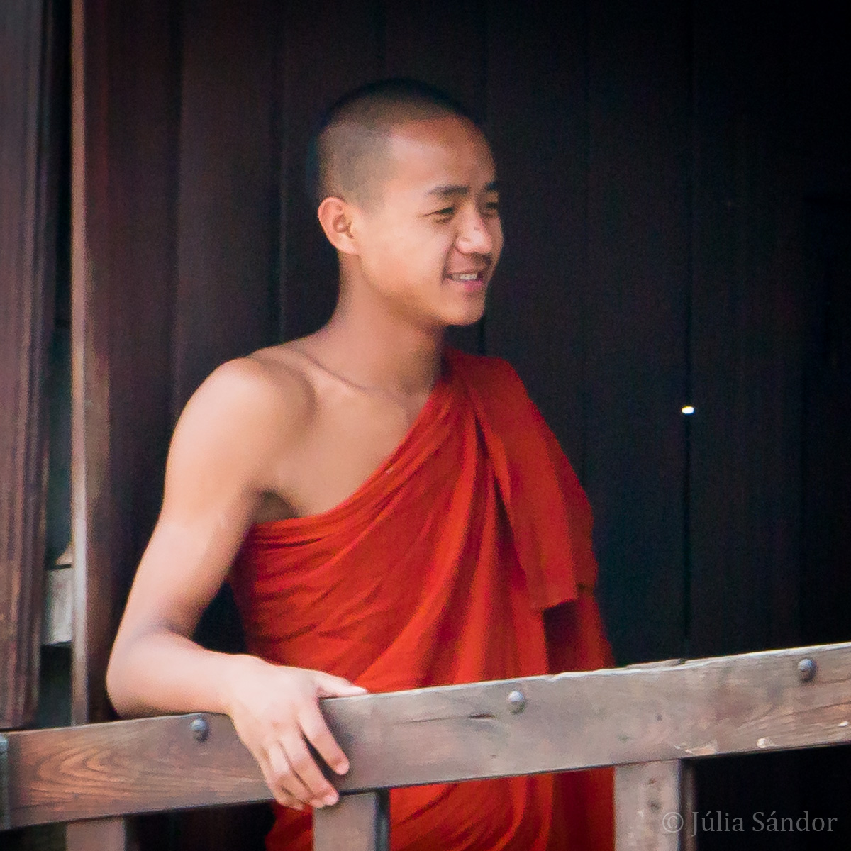 Faces of Asia: Burmese monk