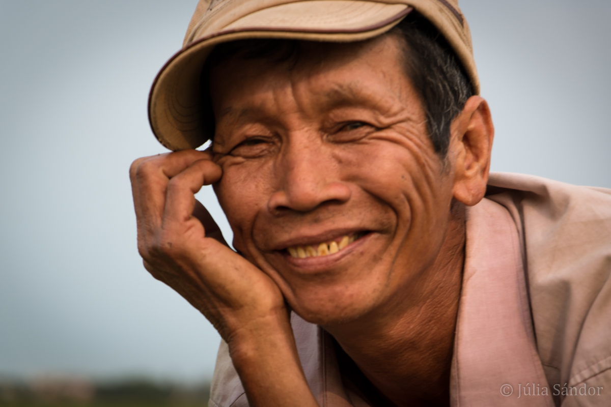 Faces of Asia: Vietnamese Farmer smiling