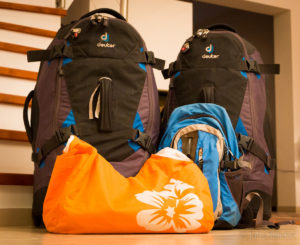 How to prepare for a 1-month trip to India: pack light.