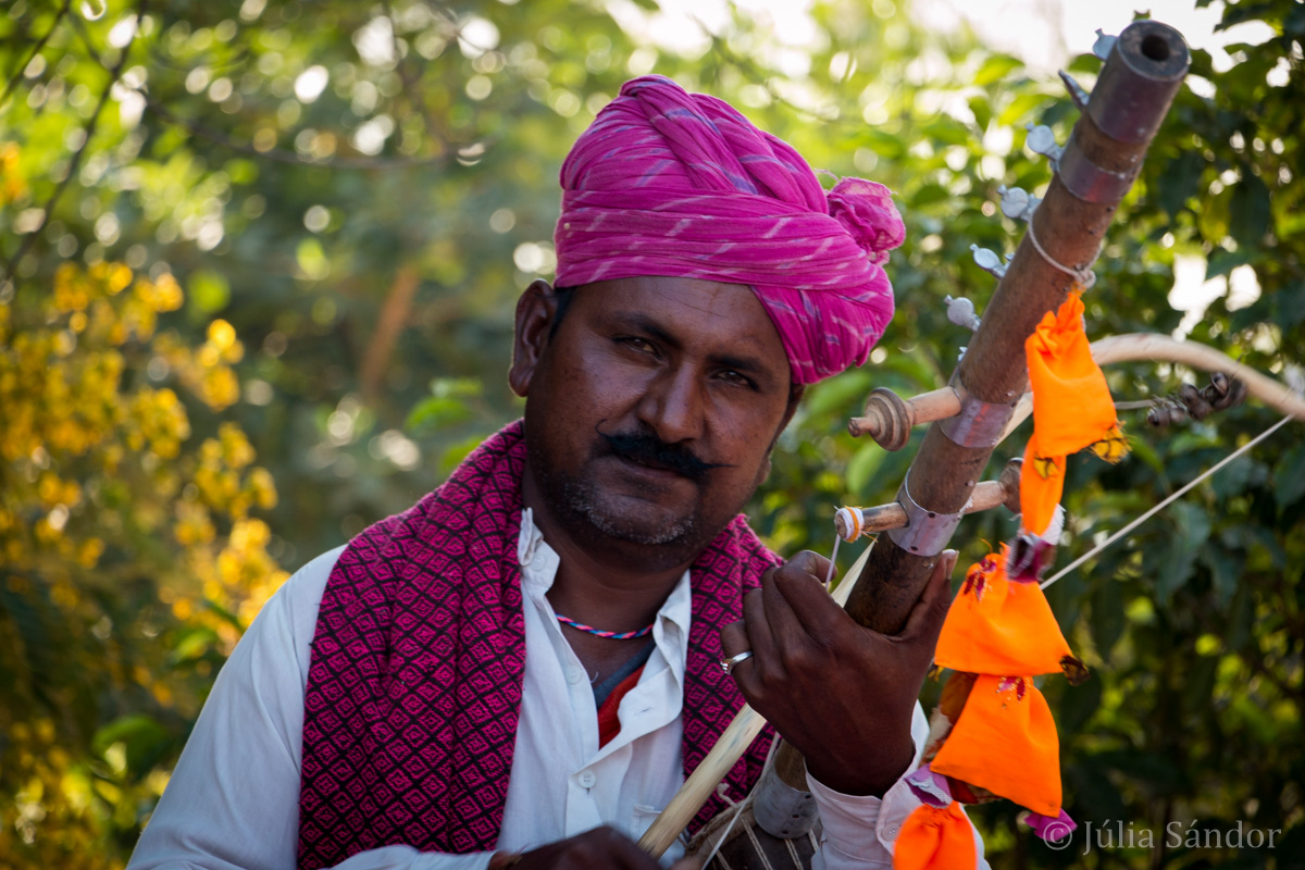 Musician in Jodhpur