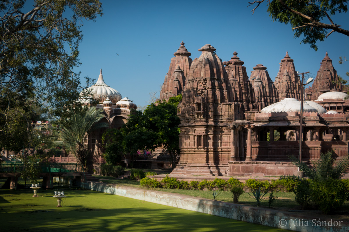 Cenotaphs in the Mandore garden of Jodhpur