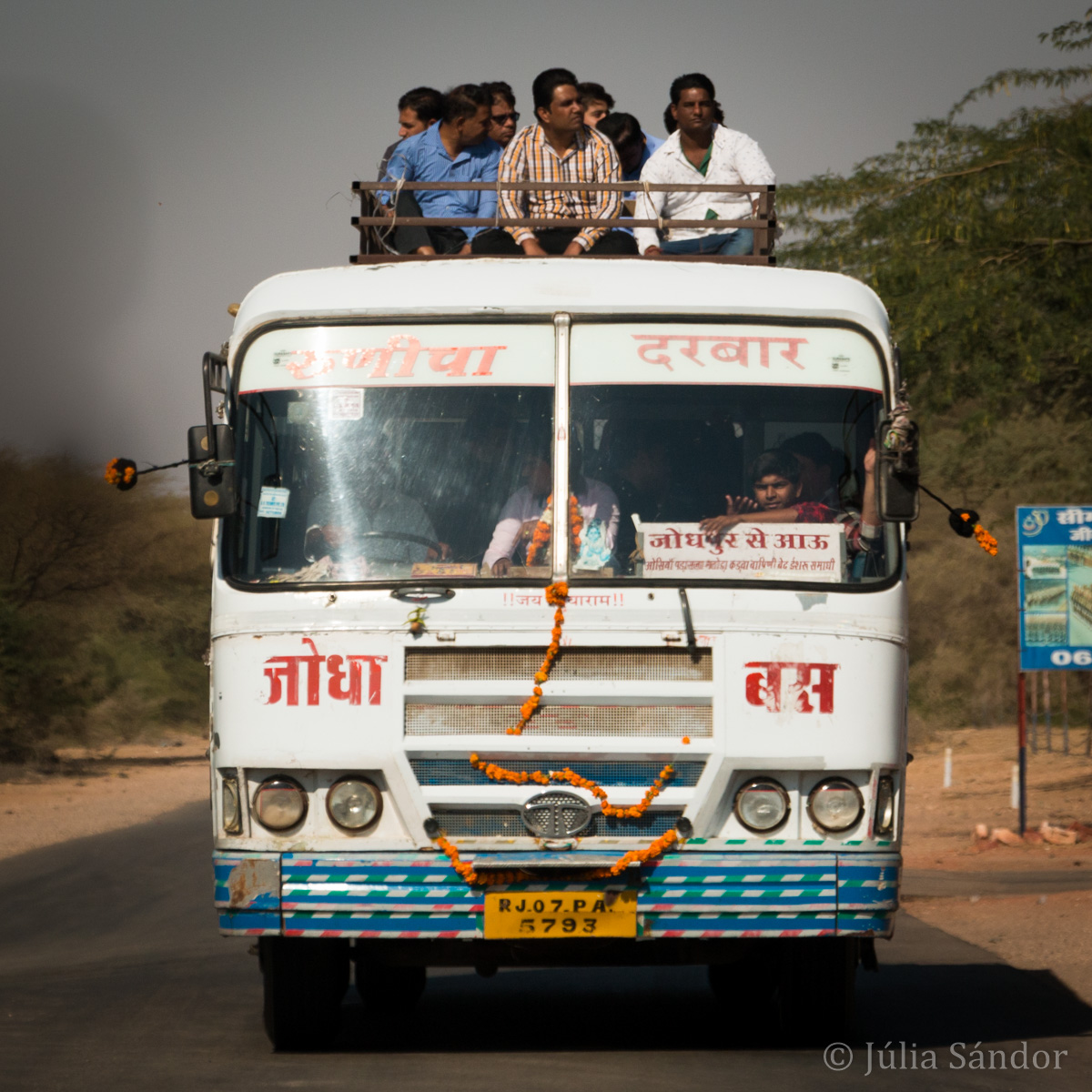 Bus ride to the next village