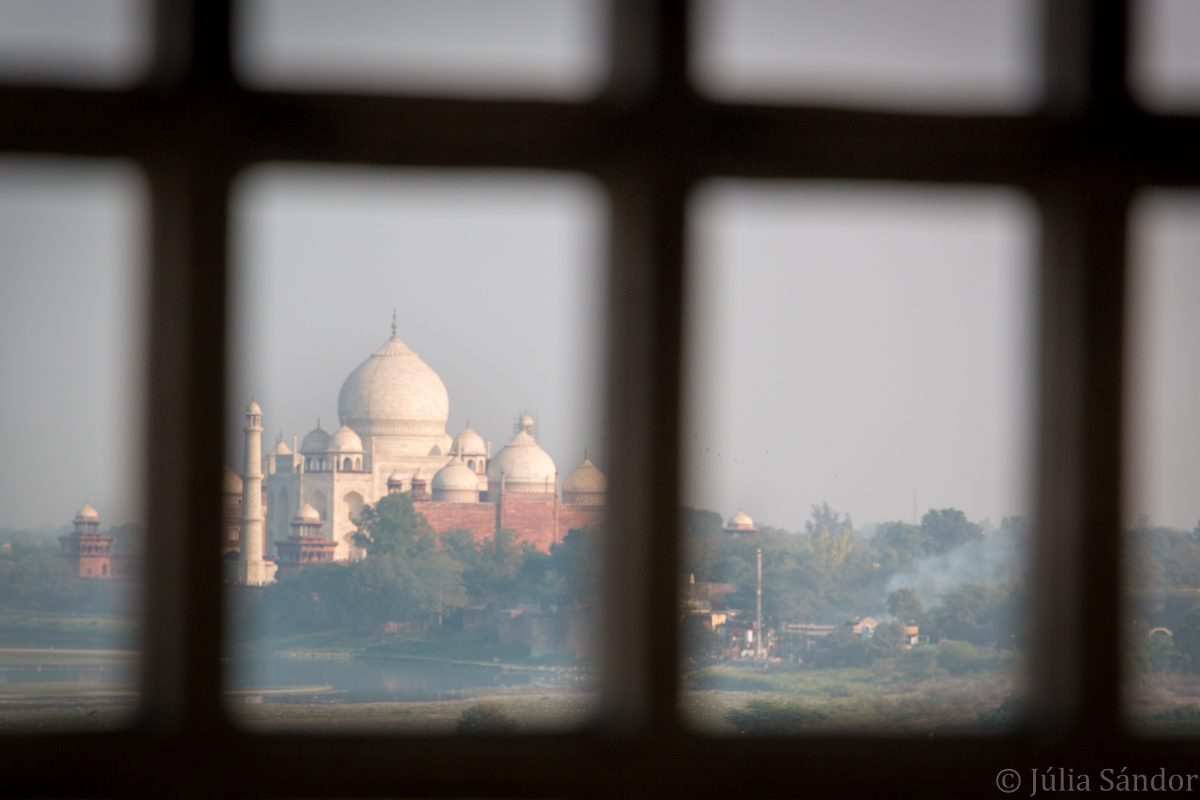 View from the Agra Fort